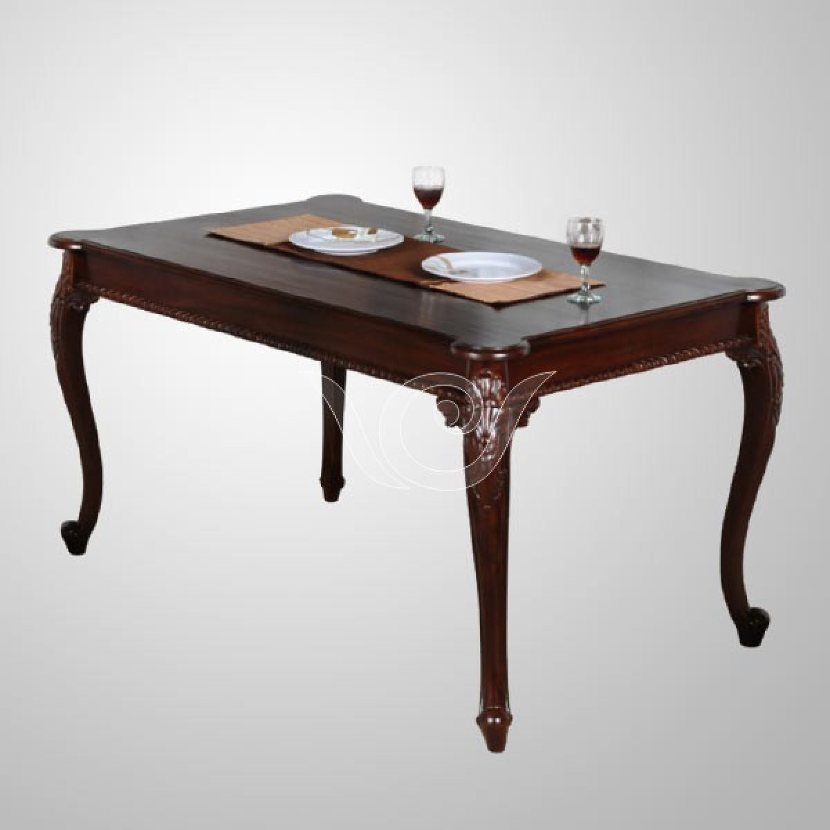 Elizabeth Wooden Dining Table Indonesia Classic Furniture