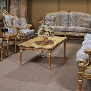 Eros Gold Living Set