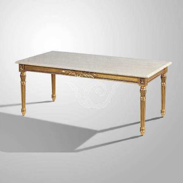 Hannah Coffee Table Marble Top