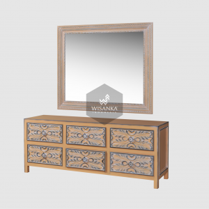 Marinda Classic Drawer and Mirror
