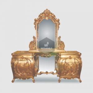 Alexander Classic Dressing Table and Mirror