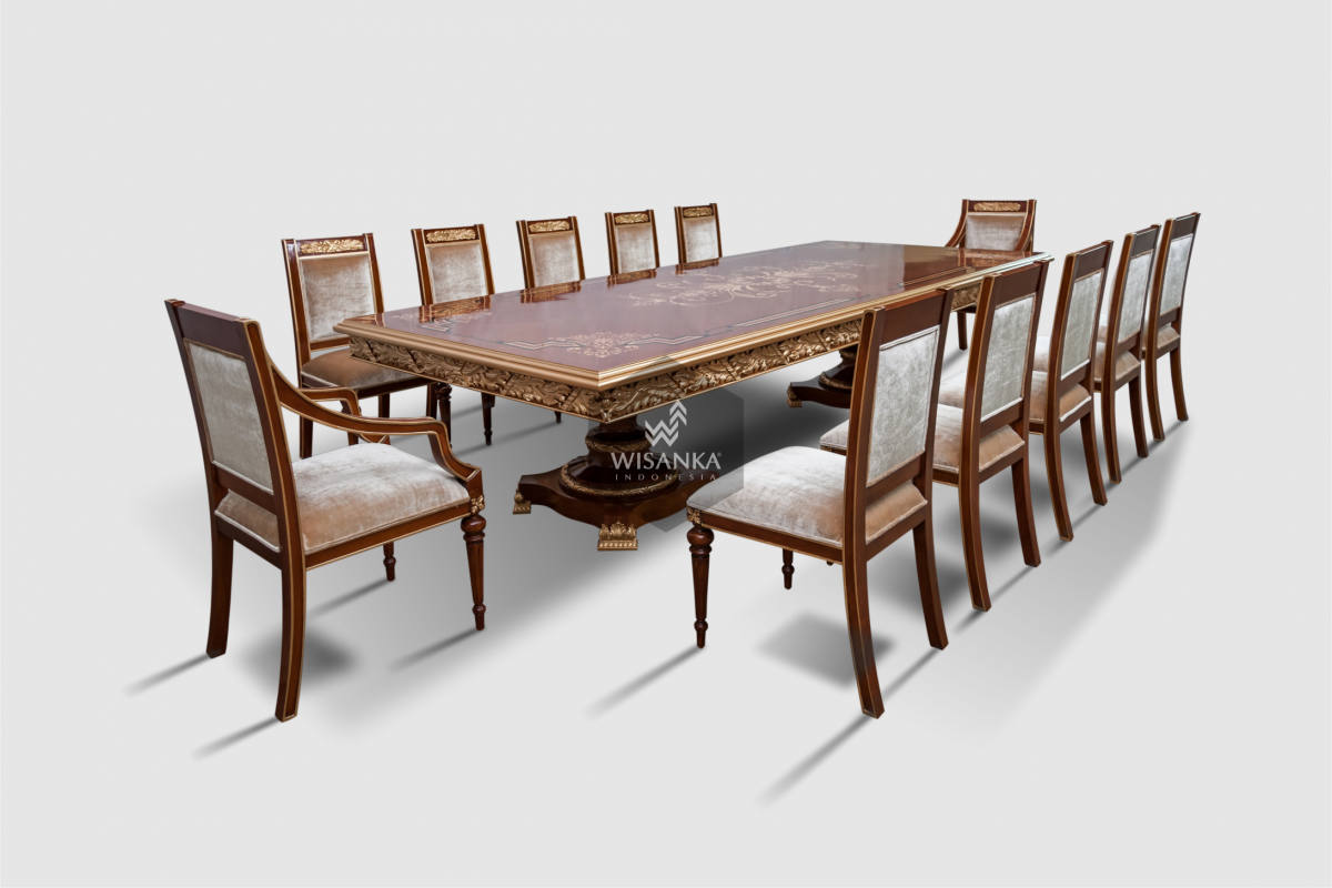 Outdoor Teak Dining Table and Chairs